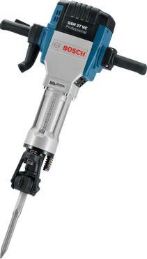 Отбойный молоток Bosch GSH 27 VC синий
